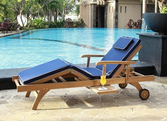 Sun Lounge Teak