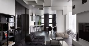 Black modern furniture1