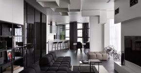 Black modern furniture1