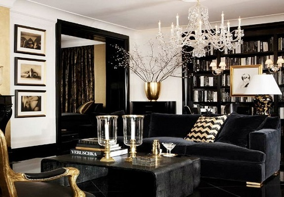 Black modern furniture3