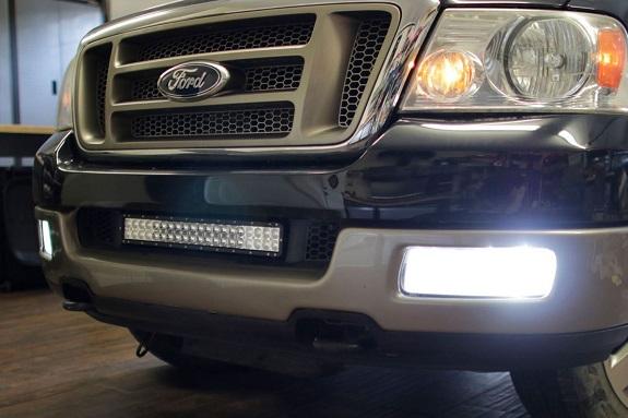 ford led fog light