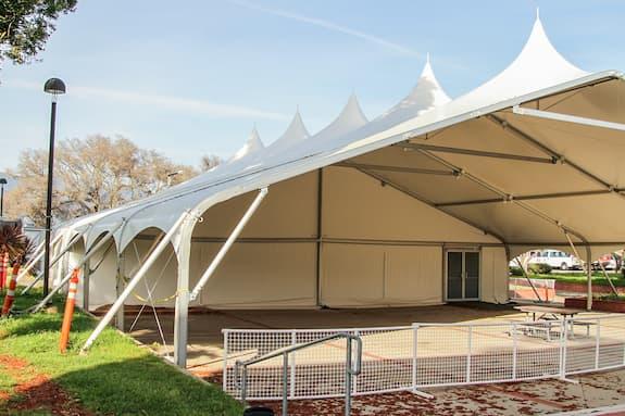 college tent