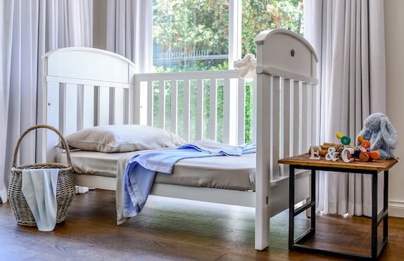 bamboo cot sheets for baby