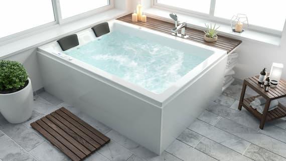 oversized spa bath