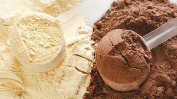 whey powder nutrition