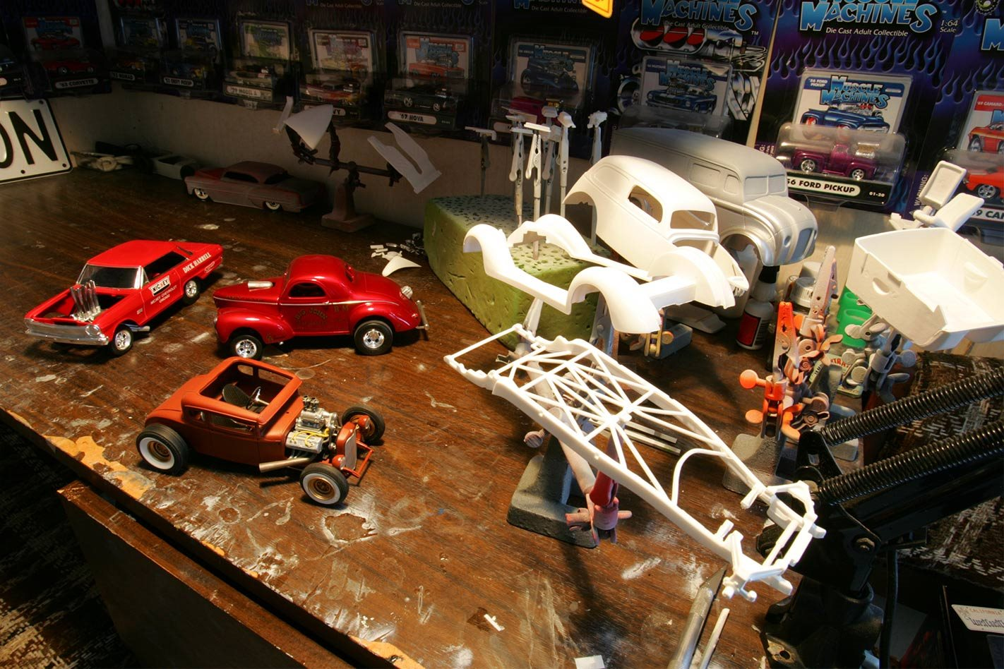 Scale Model Cars Building