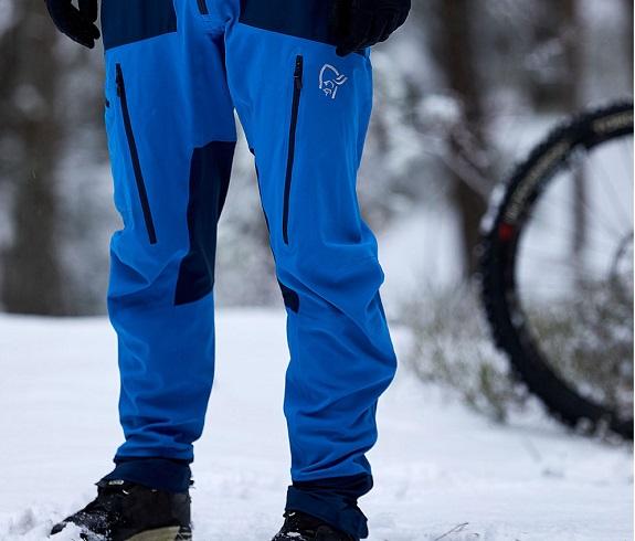 Shell snowboard pants