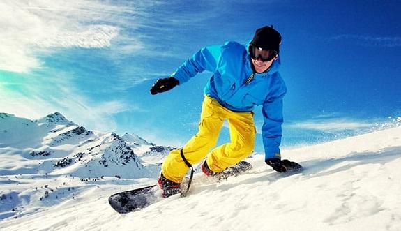 Waterproof snowboard pants