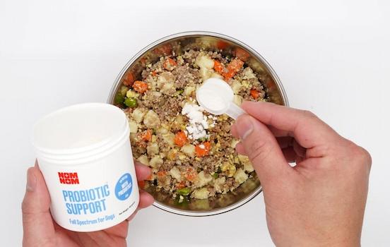 probiotic supplements in food