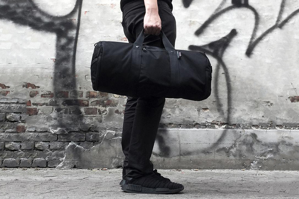 polyester nylon duffel bag