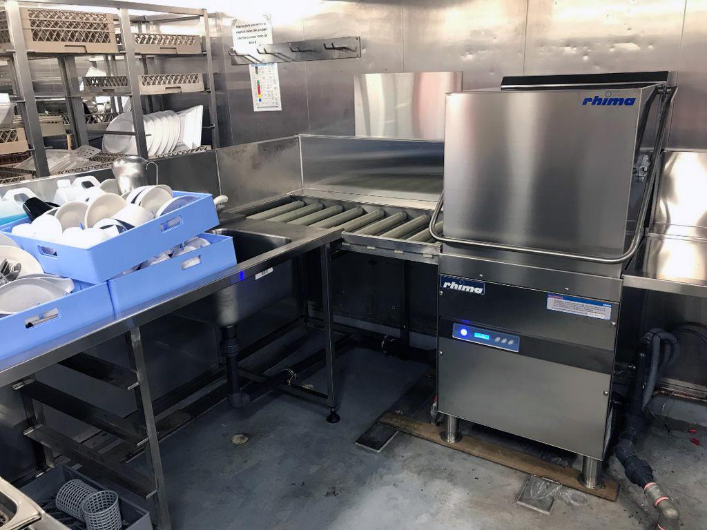 rhima commercial dishwasher