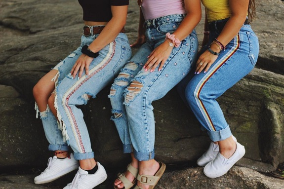 Jeans for teenage girls