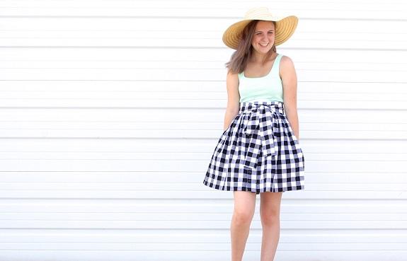 Teenage skirt