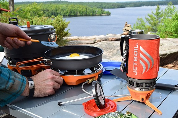 portable cooking system for camping