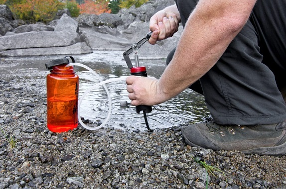 water filtration while camping